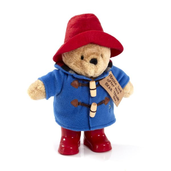 Classic Paddington Bear with Wellies. 24cm.  1489